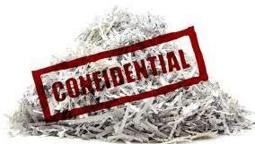 confidential graphic