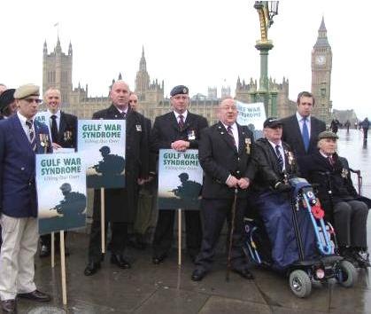 gulf war veterans at westminster