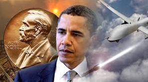 obama nobel drones