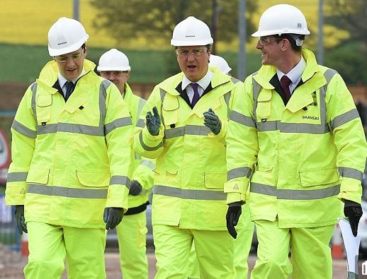 The message: the Coalition is delivering on infrastructure