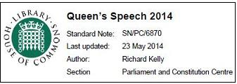 queens speech 2014