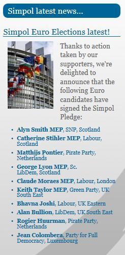 simpol euro elections