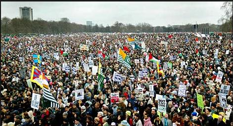 2003 iraq war protests