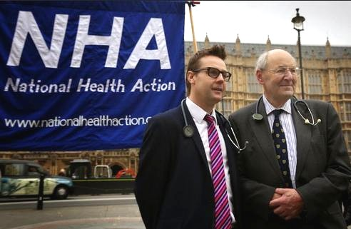 Dr Clive Peedell (left) and Dr Richard Taylor