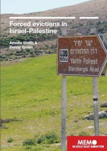 forced evictions in israel-palestine cover
