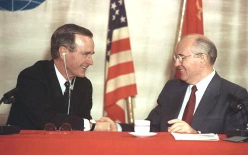 bush gorbachev 1989