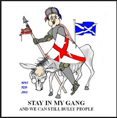 scotland cartoon
