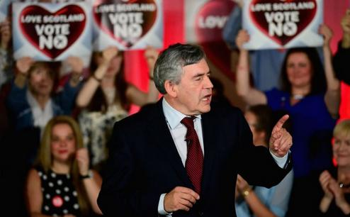 gordon brown no campaign
