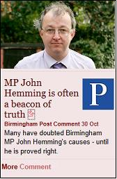 john hemming plus brummie