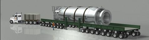 nuscale reactor on lorry
