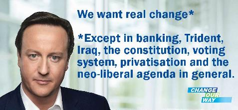Cameron's real change