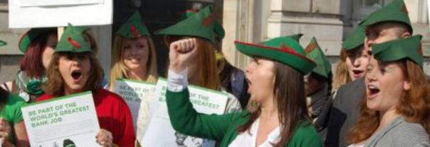 robin hood style supporters