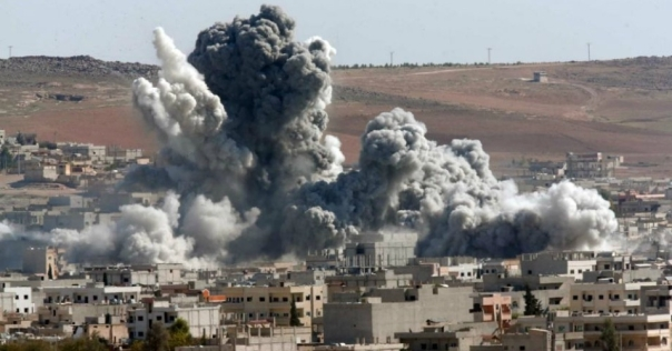us coalition strike kobani syria