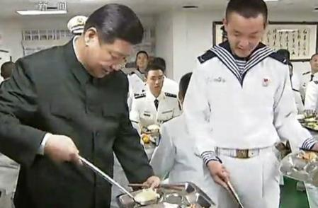 chines army food